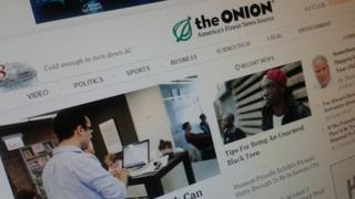 The Onion site