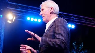 Jeremy Paxman at the Hay Festival