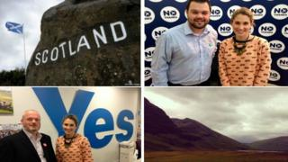 Selection of images from Anne-Marie Tomchak in Scotland
