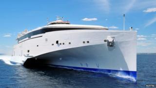 Austal 102 high speed ferry