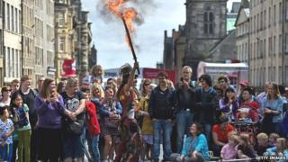 Edinburgh Festival Fringe scene