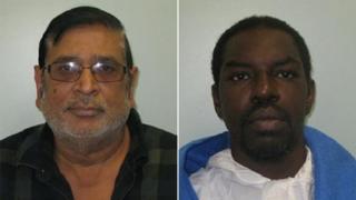 Mohamed Ali (left) and Frederick Best
