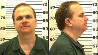 Mug shot of Mark Chapman taken in 2010