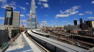 New platforms at London Bridge