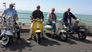 Mods in Brighton on 23/08/14