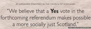 Christians for Independence statement