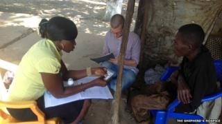 British aid volunteer William Pooley, who worked with The Shepherd's Hospice to provide palliative care in Sierra Leone