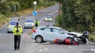 Fatal crash on A29