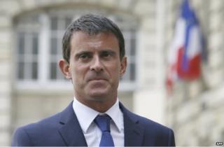 Manuel Valls (file pic)
