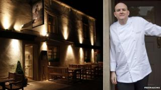 Freemasons at Wiswell and chef Steven Smith