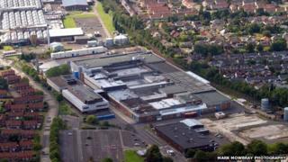 Nestle factory, Fawdon