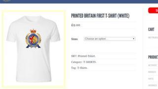 Britain First website