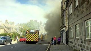 Wallfield Place fire