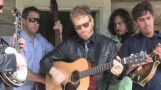 Bluegrass performers