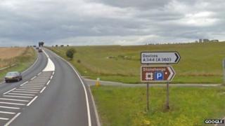 A303 near Stonehenge