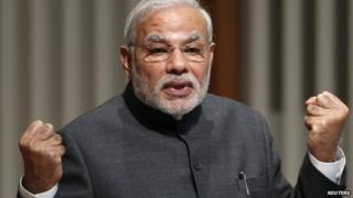 Mr Modi has promised boost India's economic growth