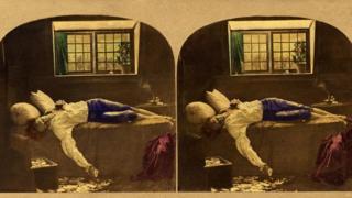 Chatterton's Henry Wallis in stereoscope