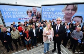 Alistair Darling and the new posters