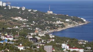 Crimea coastline - archive pic