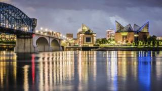 A photograph of Chattanooga, Tennessee.