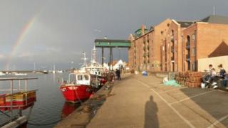 Wells-next-the-Sea quay side