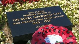 Memorial plaque in Dover