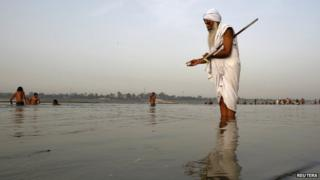 The Ganga supports a third of India's 1.2 billion people living on its floodplains