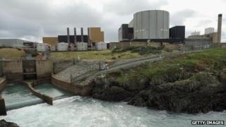 Wylfa nuclear power plant, Anglesey