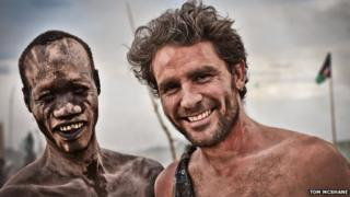 Levison Wood in South Sudan