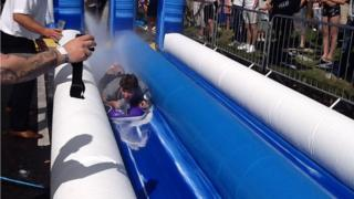 Giant slide Mickleover