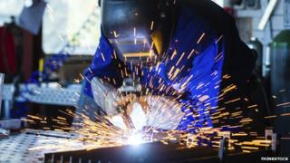 The manufacturing sector performed best in August, according to data provided by the Ulster Bank