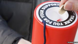 The research suggested those in Belfast and County Armagh were the most likely to donate