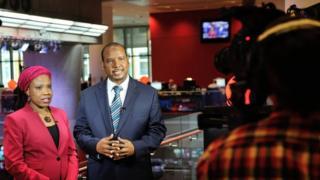 Hausa TV presenters