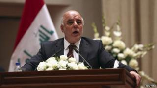 Iraq's new Prime Minister Haider al-Abadi (September 2014)