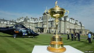 Ryder Cup arrives