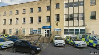 Manvers Street police station in Bath