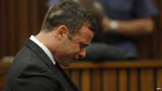 Oscar Pistorius in court on 11/09/14
