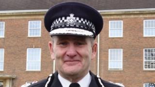 Wiltshire Chief Constable Patrick Geenty