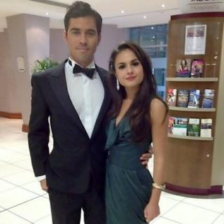 Oscar Silva and Sophie Rosser
