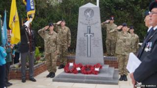 Brinklow war memorial