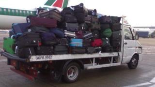 Luggage at airport