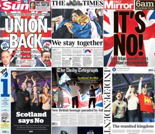 Late editions of Friday's newspapers