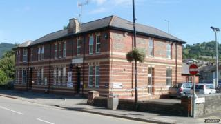 Risca police station