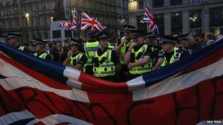 police at george square