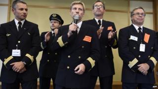 President of the pilots's union SNPL, Jean-Louis Barber