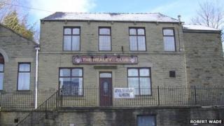 Healey Conservative Club, Whitworth