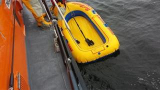 Dinghy recovered off the coast of Rhyl