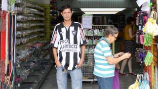 Store owner Anacleto Gomes