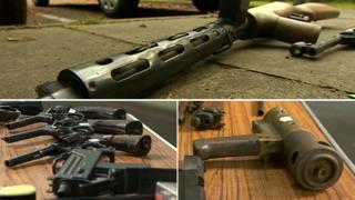 Guns handed into Northamptonshire Police