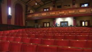 Albany Theatre interior